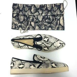 Set: Witchery 9AUS snake print shoe +matching bag